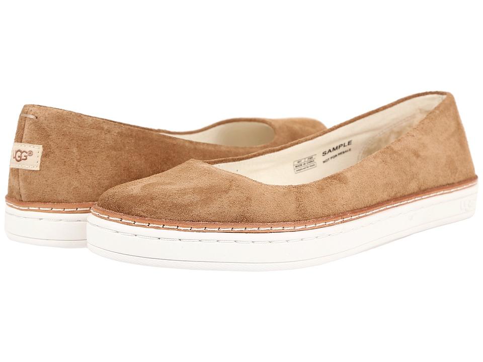 UGG - Kammi (Chestnut) Women's Flat Shoes