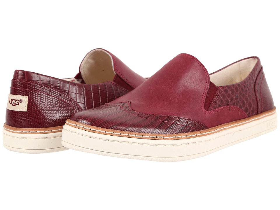 UGG - Hadria Croco (Lonely Hearts) Women's Slip on Shoes