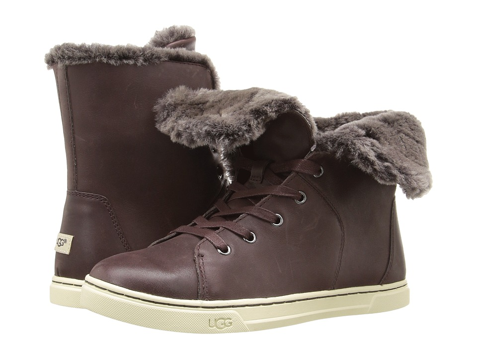 UGG - Croft Luxe Quilt (Espresso) Women's Lace up casual Shoes