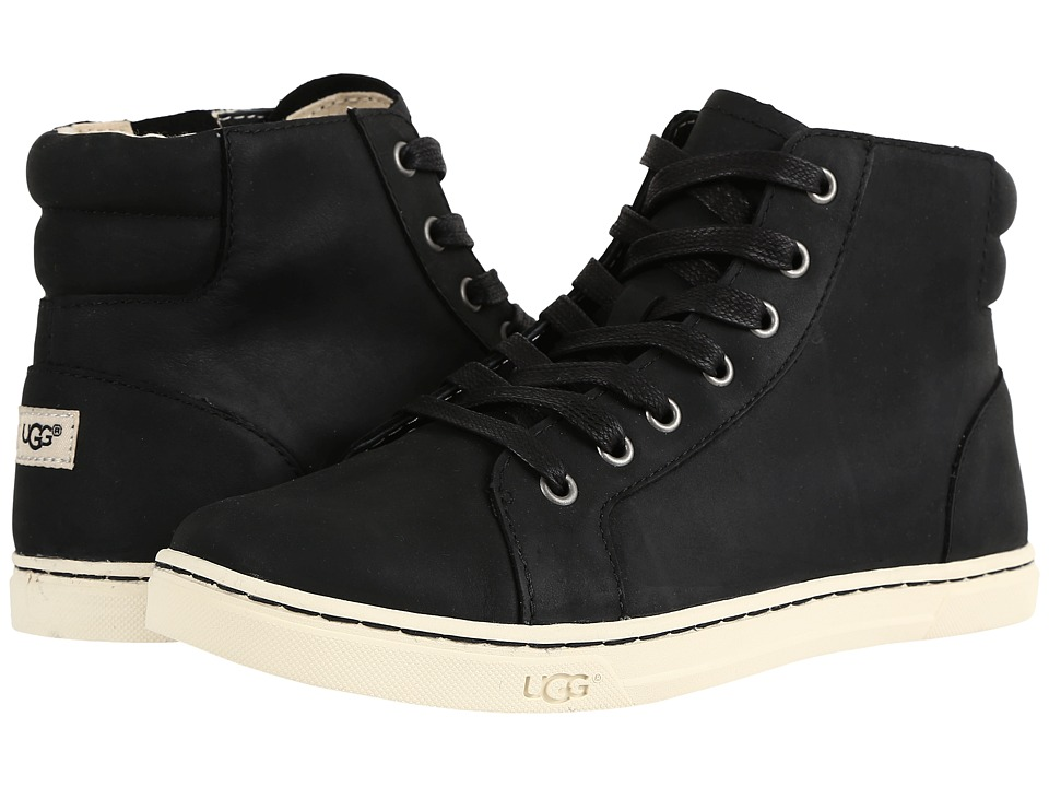 UGG - Gradie (Black) Women's Lace up casual Shoes