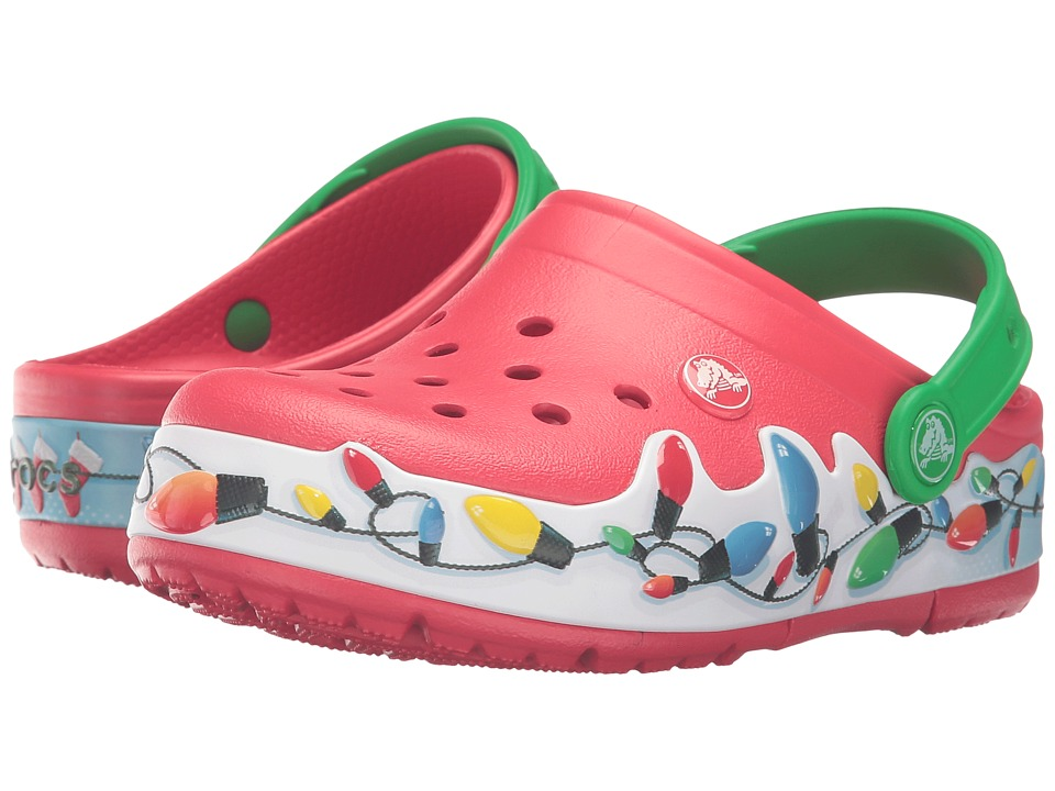 Crocs Kids - CrocsLights Holiday Clog (Toddler/Little Kid) (Multi) Kids Shoes