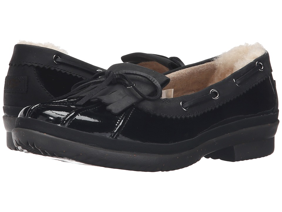 UGG - Haylie (Black) Women's Slip on Shoes