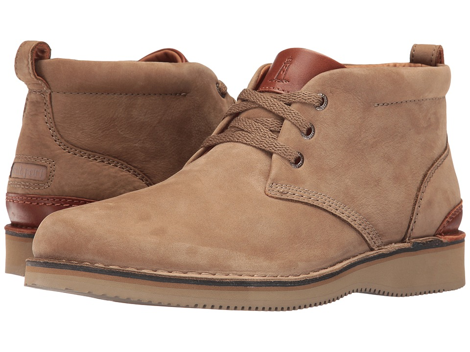 Rockport - Prestige Point Chukka (New Vicuna) Men's Lace-up Boots