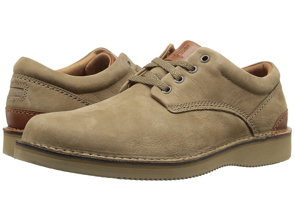 Rockport - Prestige Point Plaintoe Oxford (New Vicuna) Men's Lace up casual Shoes