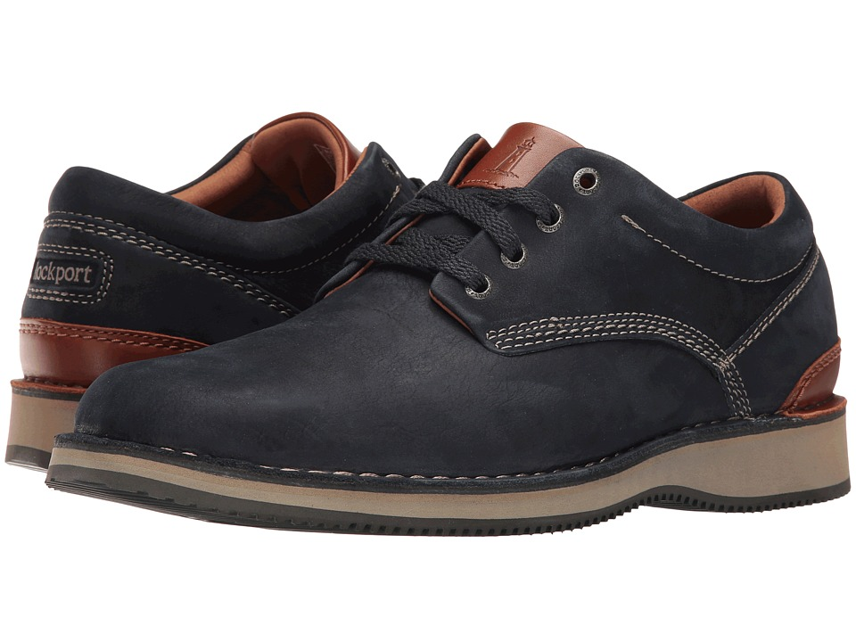 Rockport - Prestige Point Plaintoe Oxford (New Dress Blues) Men's Lace up casual Shoes
