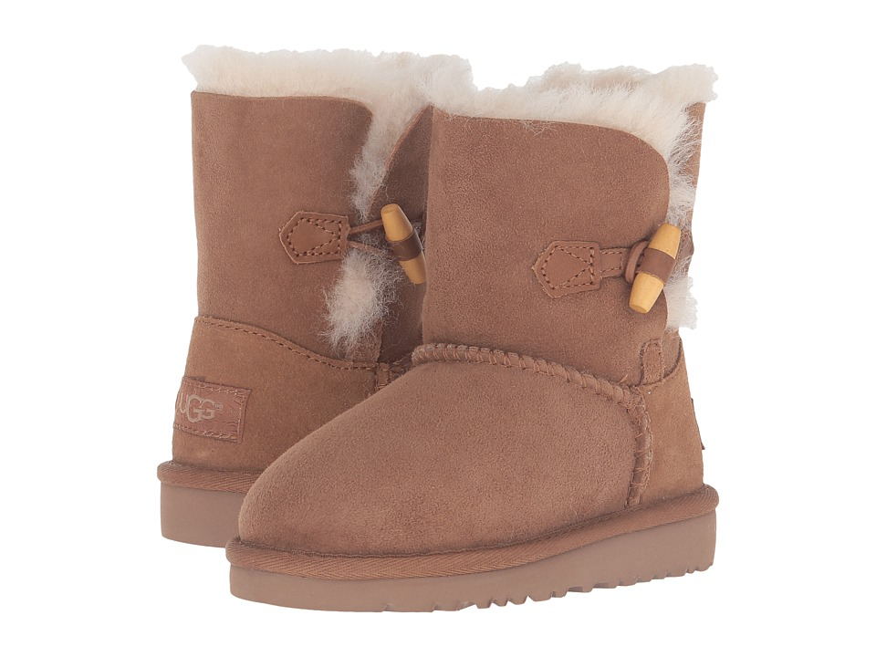 UGG Kids Ebony (Toddler/Little Kid) (Chestnut) Girls Shoes