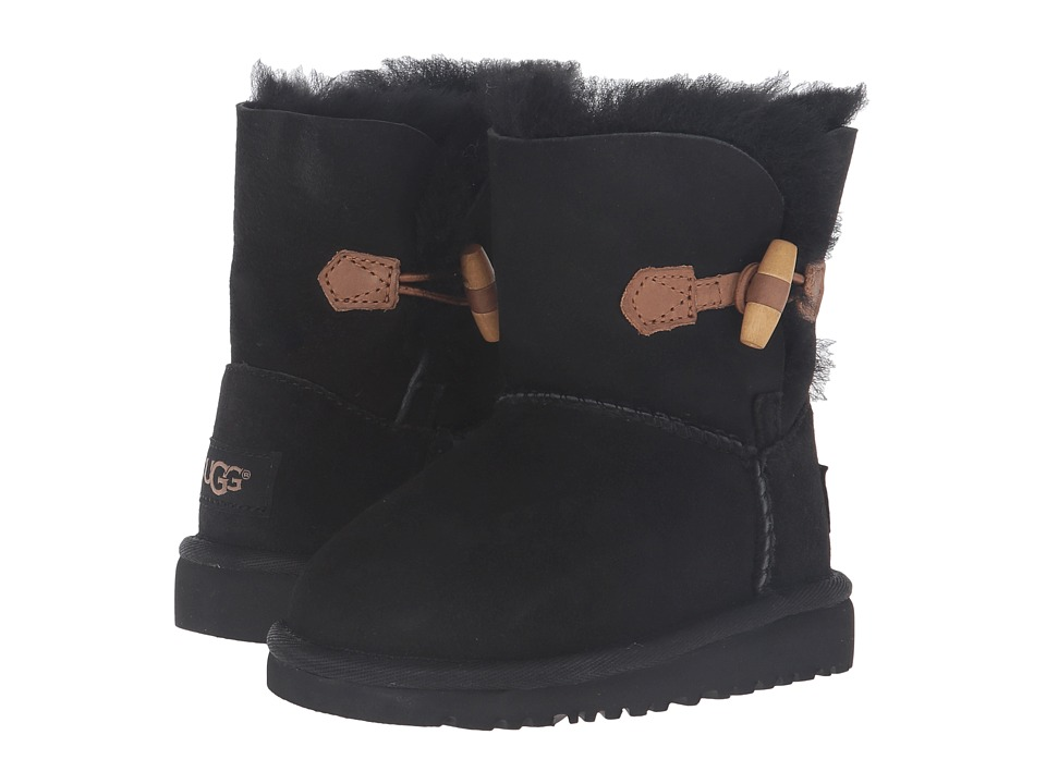UGG Kids - Ebony (Toddler/Little Kid) (Black) Girls Shoes