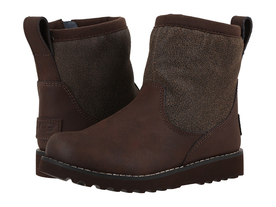 UGG Kids - Bayson (Toddler/Little Kid/Big Kid) (Bomber Teak) Boys Shoes