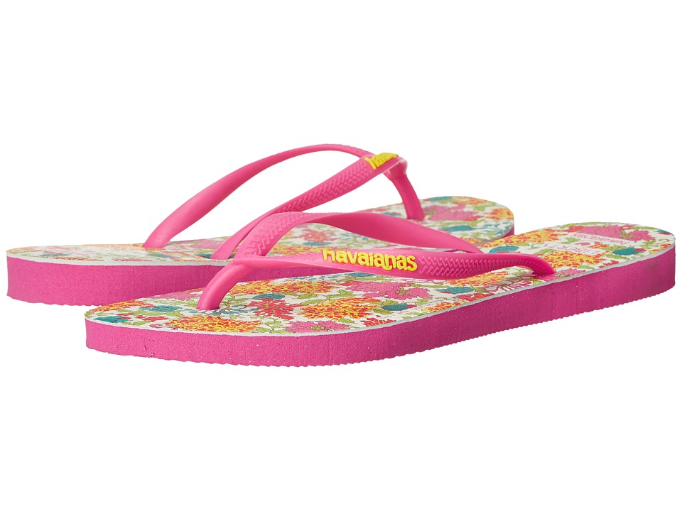 Havaianas Slim Liberty Sandal (Orchid Rose) Women