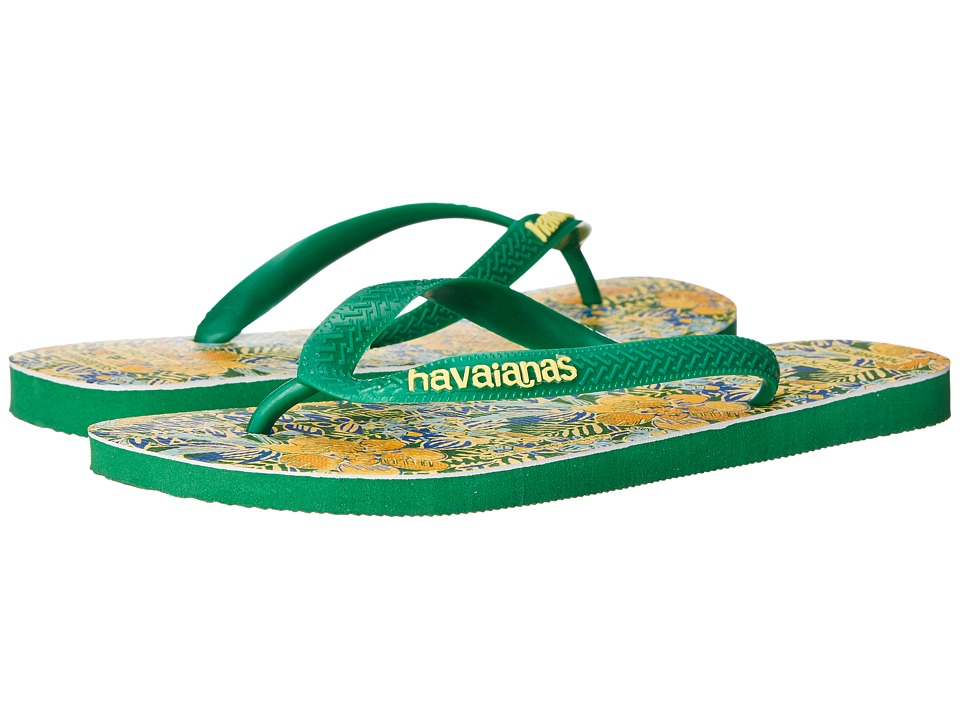 Havaianas - Top Liberty Sandal (Green) Women's Sandals