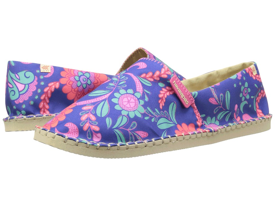 Havaianas - Origine Liberty (Marine Blue) Women's Sandals