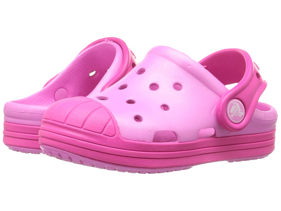 Crocs Kids - Bump It Clog (Little Kid/Big Kid) (Party Pink/Candy Pink) Girls Shoes
