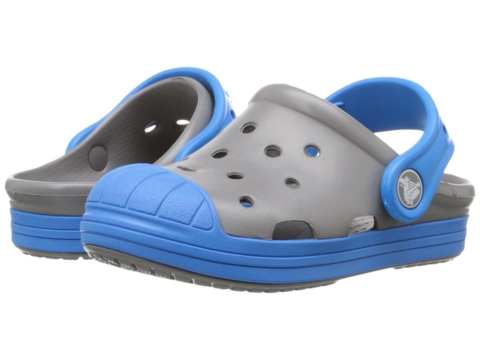 Crocs Kids - Bump It Clog (Little Kid/Big Kid) (Smoke/Ocean) Kids Shoes