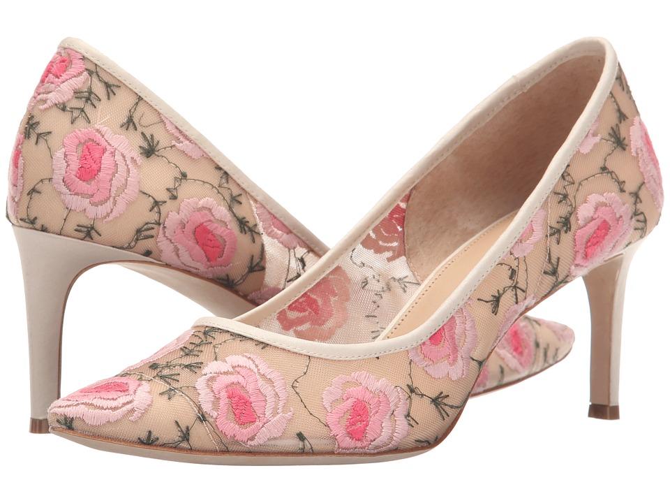 Bettye Muller - Annebel (Natural Mesh Fabric) High Heels