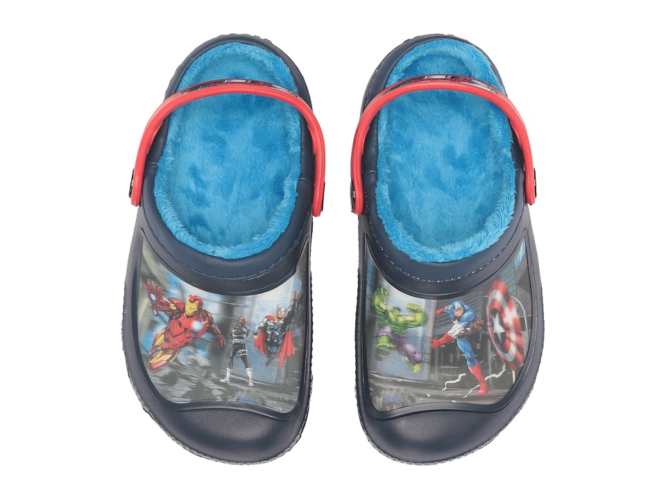 Crocs Kids - Marvel Lined Clog (Toddler/Little Kid) (Multi) Kids Shoes