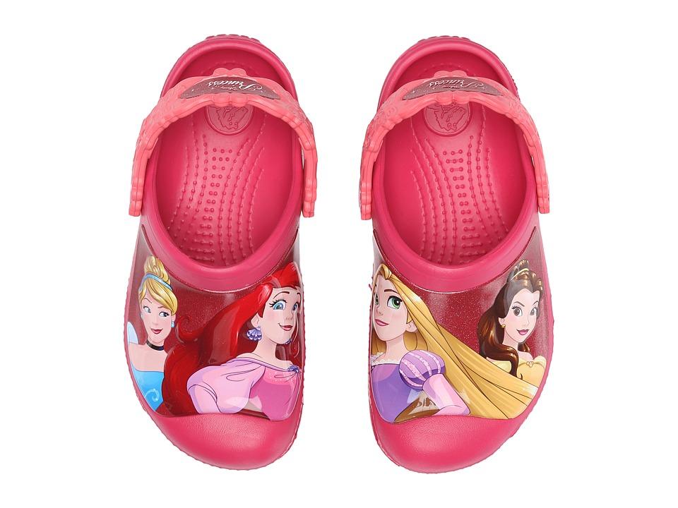 Crocs Kids - CC Dream Big Princess Clog (Toddler/Little Kid) (Raspberry) Girls Shoes