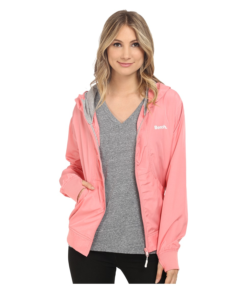 Bench - One Too Many Jacket (Salmon Rose) Women's Coat