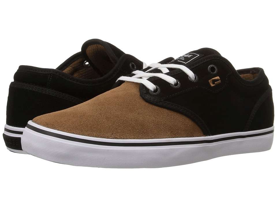 Globe - Motley (Black/Toffee/White) Men's Skate Shoes