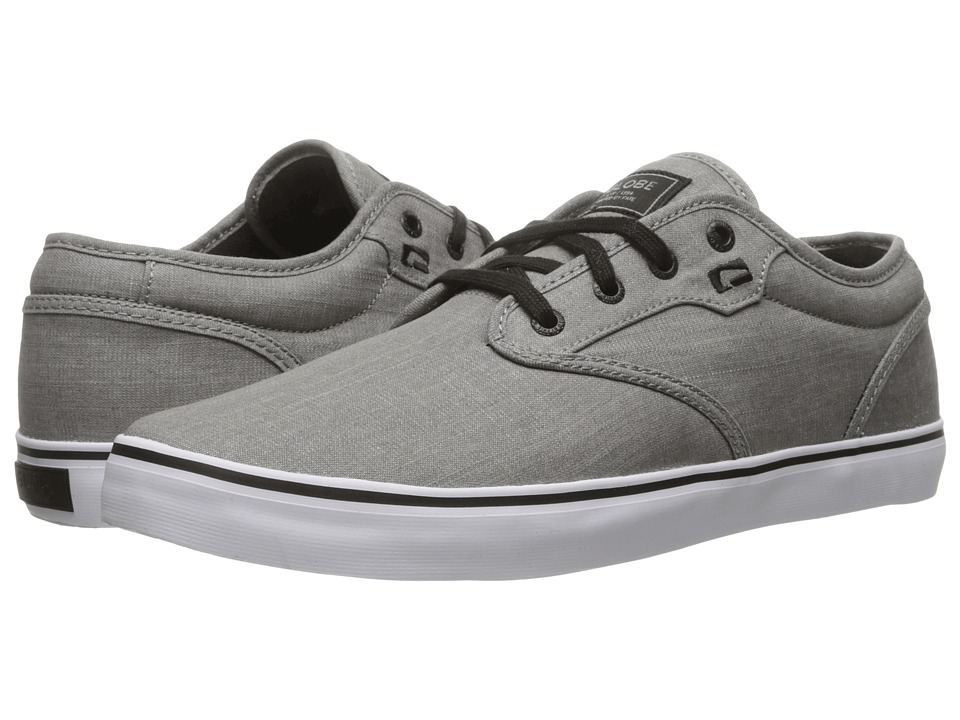 Globe - Motley (Grey Chambray) Men's Skate Shoes