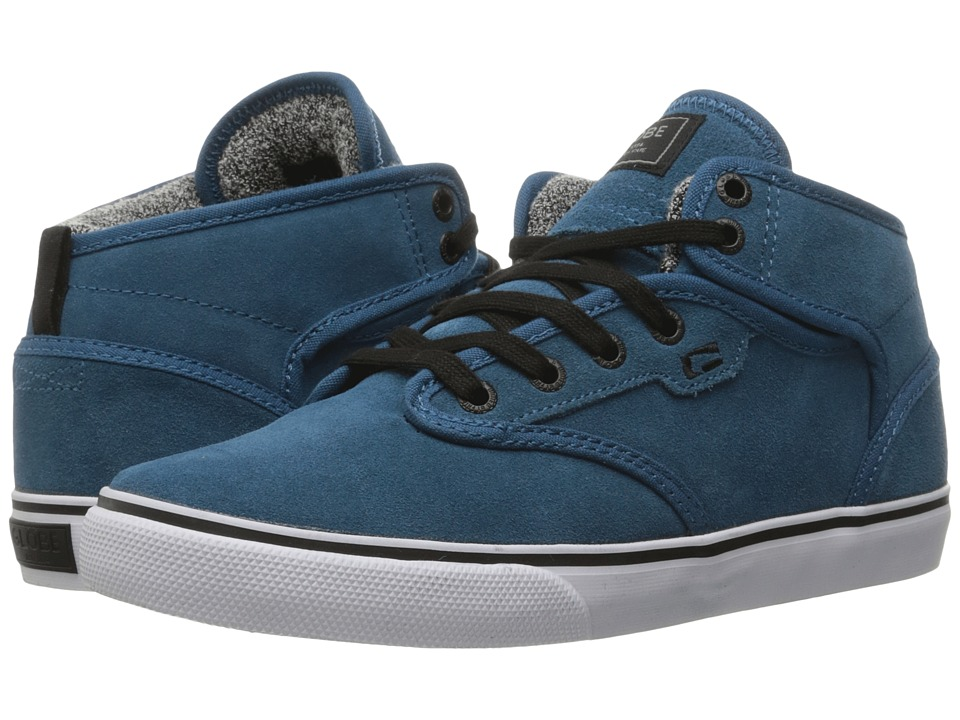 Globe - Motley Mid (Sea Blue/White) Men's Skate Shoes