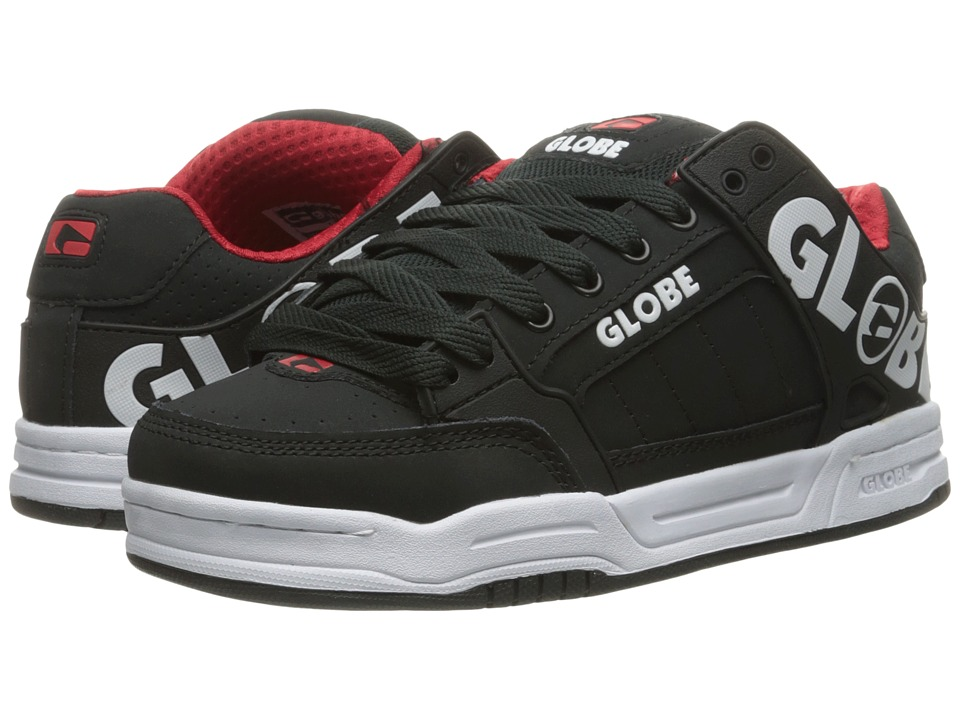 Globe - Tilt (Night/Red) Men's Skate Shoes