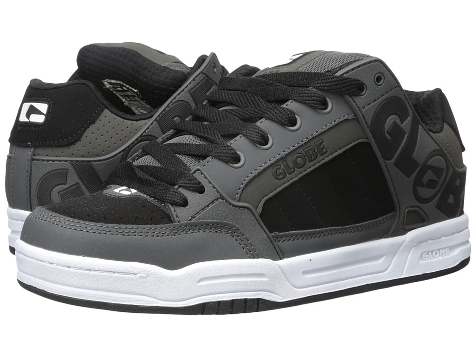Globe - Tilt (Charcoal/White/Black) Men's Skate Shoes
