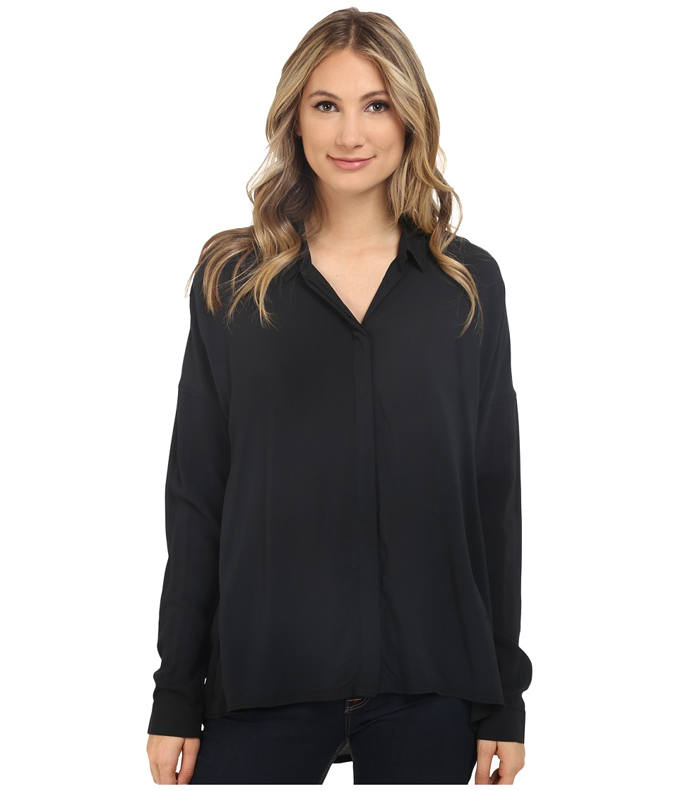 Bench - Waft Shirt (Jet Black) Women's Blouse