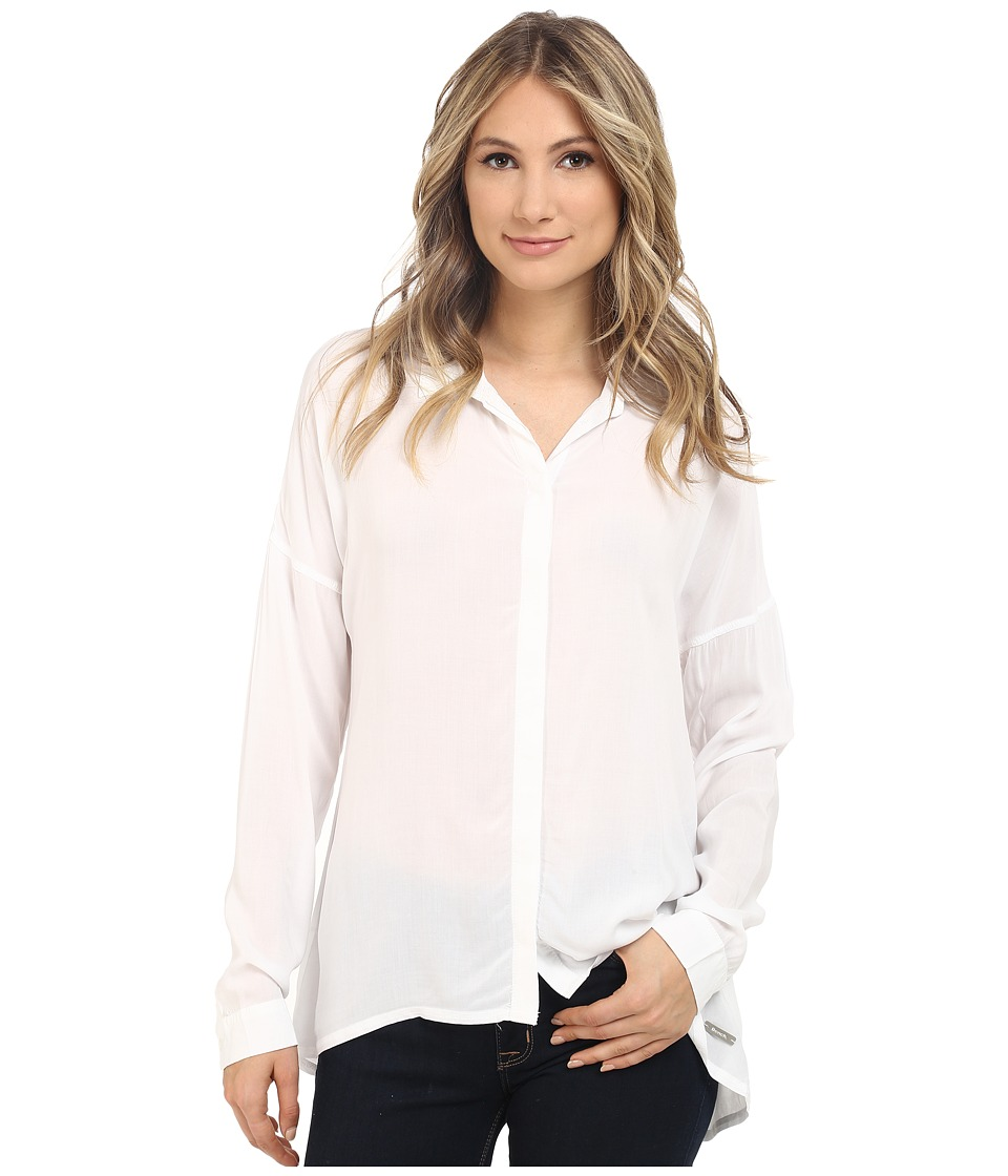 Bench - Waft Shirt (Bright White) Women's Blouse
