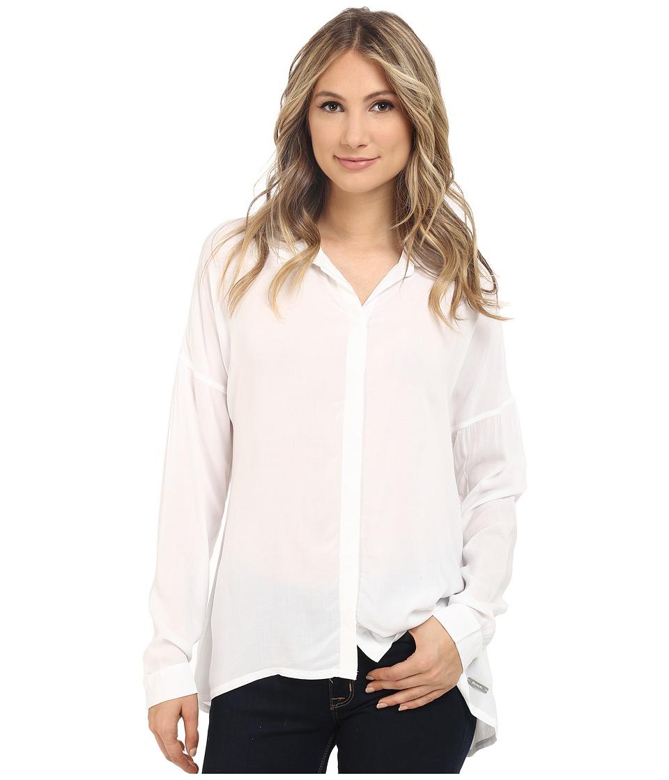 Bench - Waft Shirt (Bright White) Women's Blouse