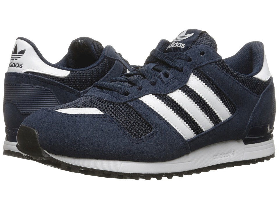 adidas Originals - ZX 700 (Collegiate Navy/Footwear White/Core Black) Men's Classic Shoes