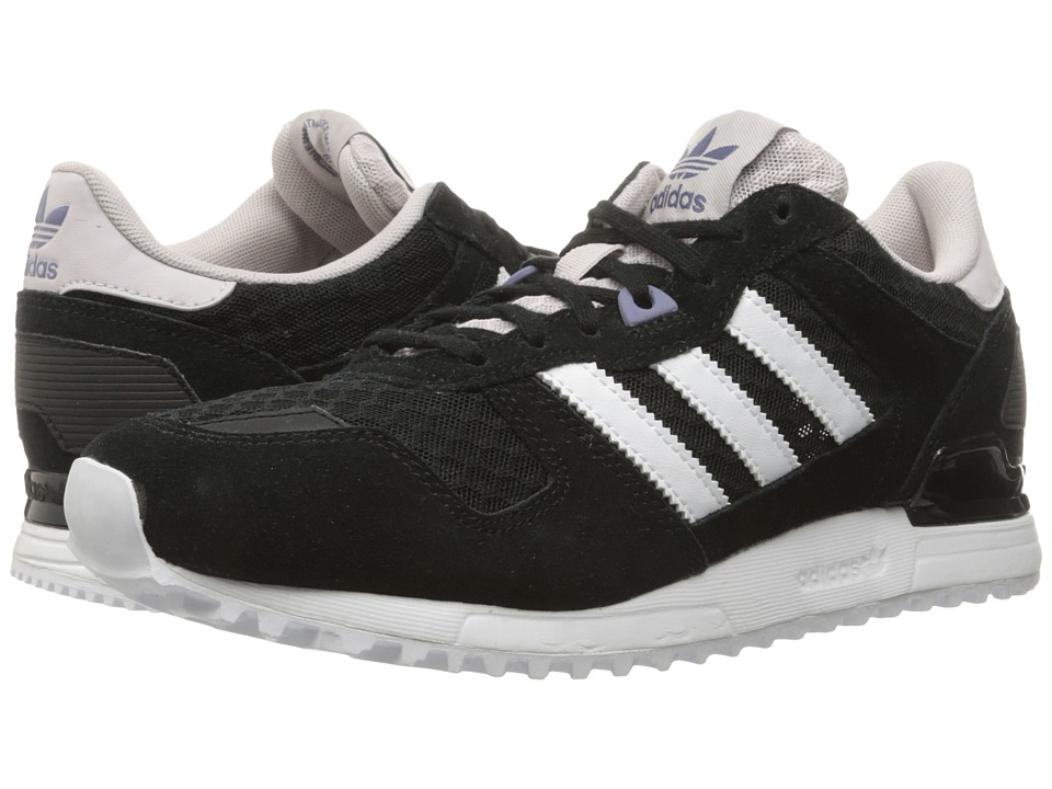 adidas Originals - ZX 700 (Core Black/Footwear White/Ice Purple) Women's Running Shoes