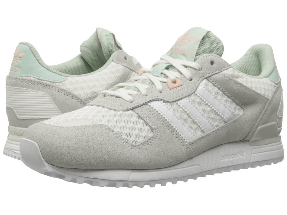 adidas Originals - ZX 700 (Off-White/Footwear White/Vapour Green) Women's Running Shoes