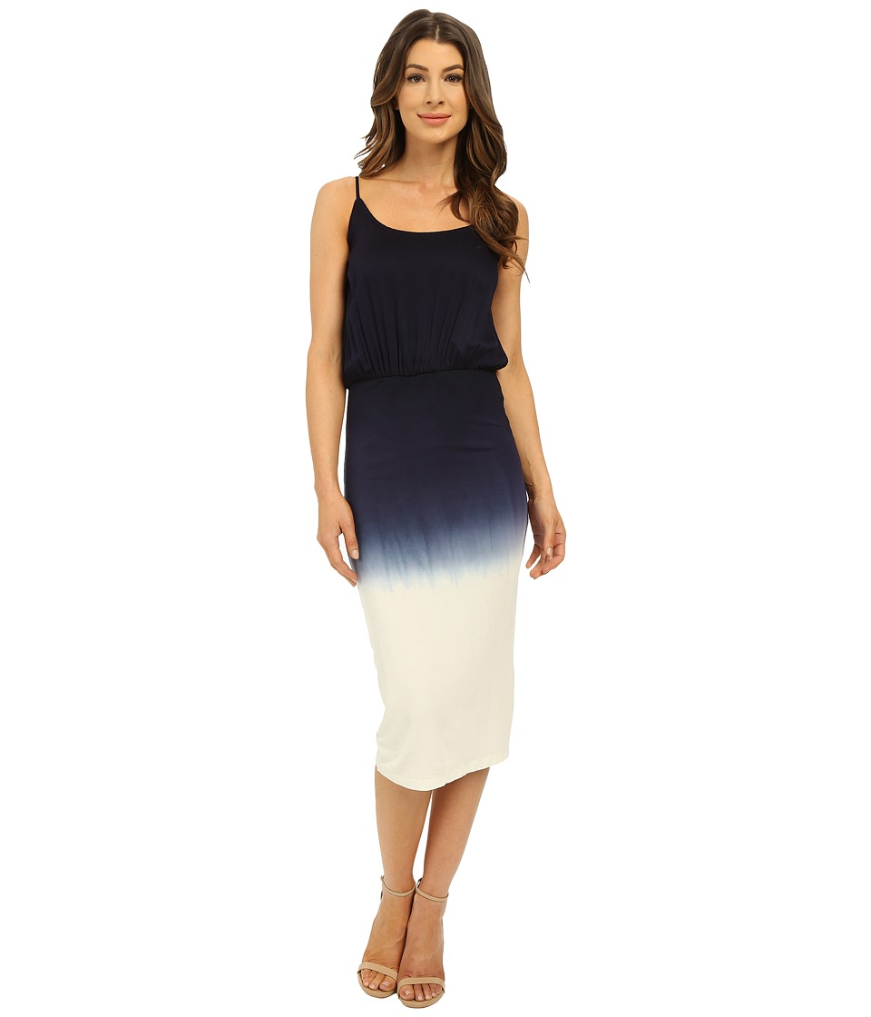 Young Fabulous & Broke - Amari Dress (Navy Ombre) Women's Dress