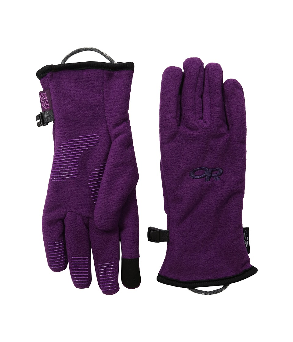 Outdoor Research - Fuzzy Sensor Gloves (Little Kid) (Orchid) Extreme Cold Weather Gloves