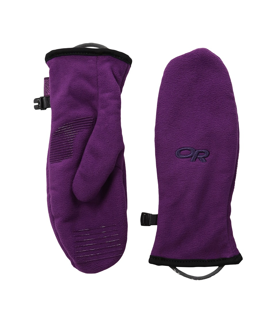 Outdoor Research - Fuzzy Mittens (Little Kid) (Orchid) Extreme Cold Weather Gloves