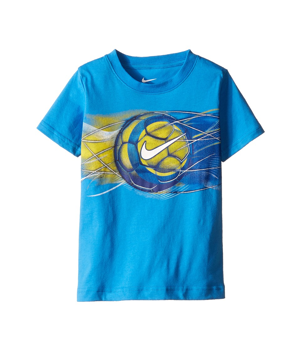 Nike Kids - Streak Sport Ball Short Sleeve Tee (Toddler) (Light Photo Blue) Boy's T Shirt