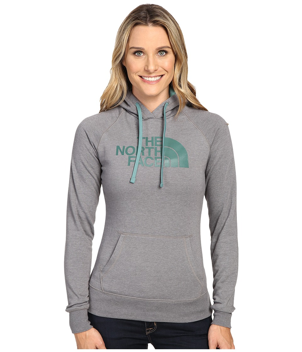 The North Face - Half Dome Hoodie (TNF Medium Grey Heather/Deep Sea) Women's Sweatshirt