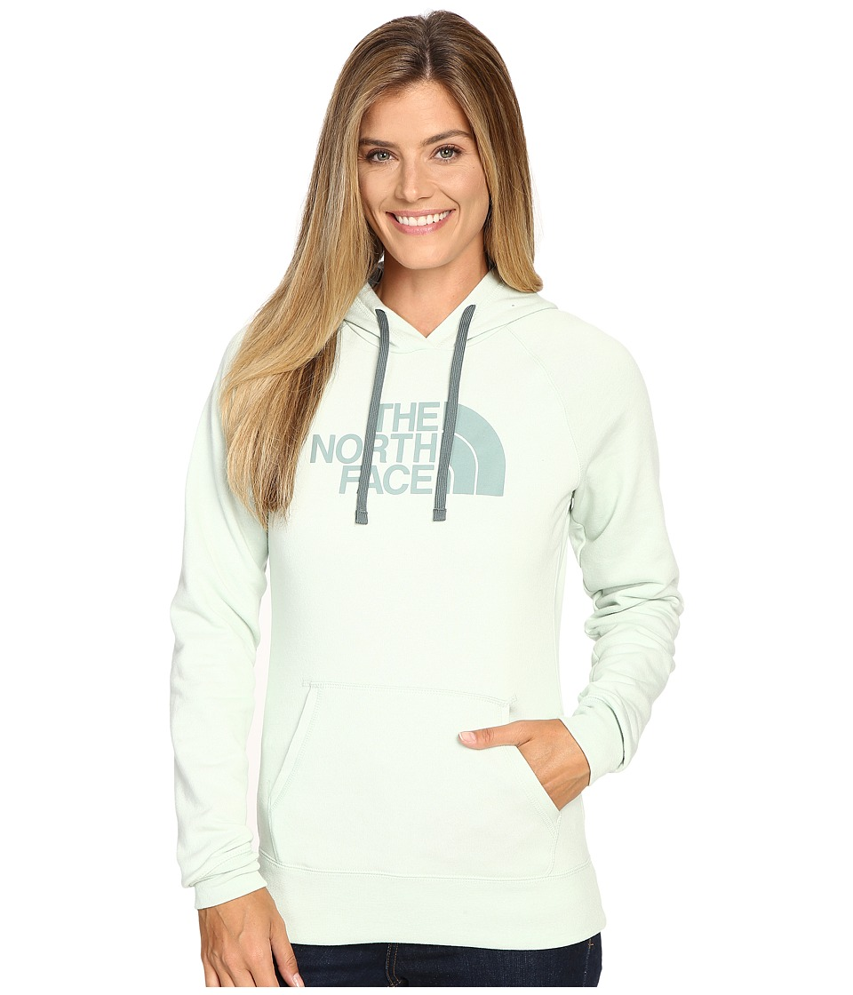 The North Face - Half Dome Hoodie (Subtle Green Light Heather/Balsam Green) Women's Sweatshirt