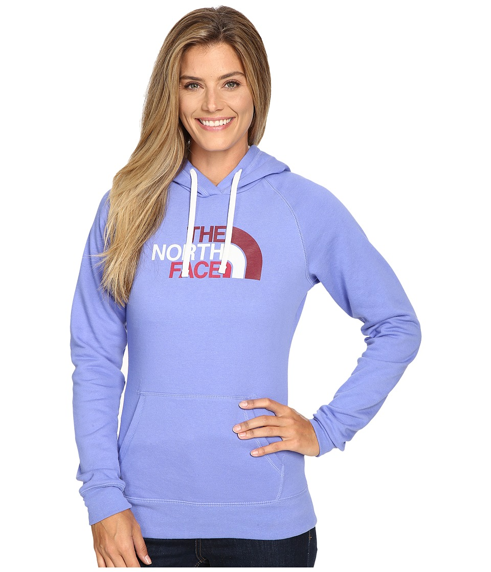 The North Face - Half Dome Hoodie (Stellar Blue/Vaporous Grey Multi) Women's Sweatshirt