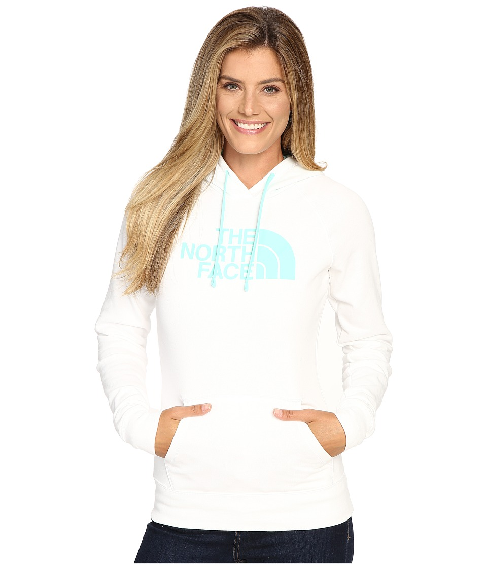 The North Face - Half Dome Hoodie (TNF White/Ice Green) Women's Sweatshirt