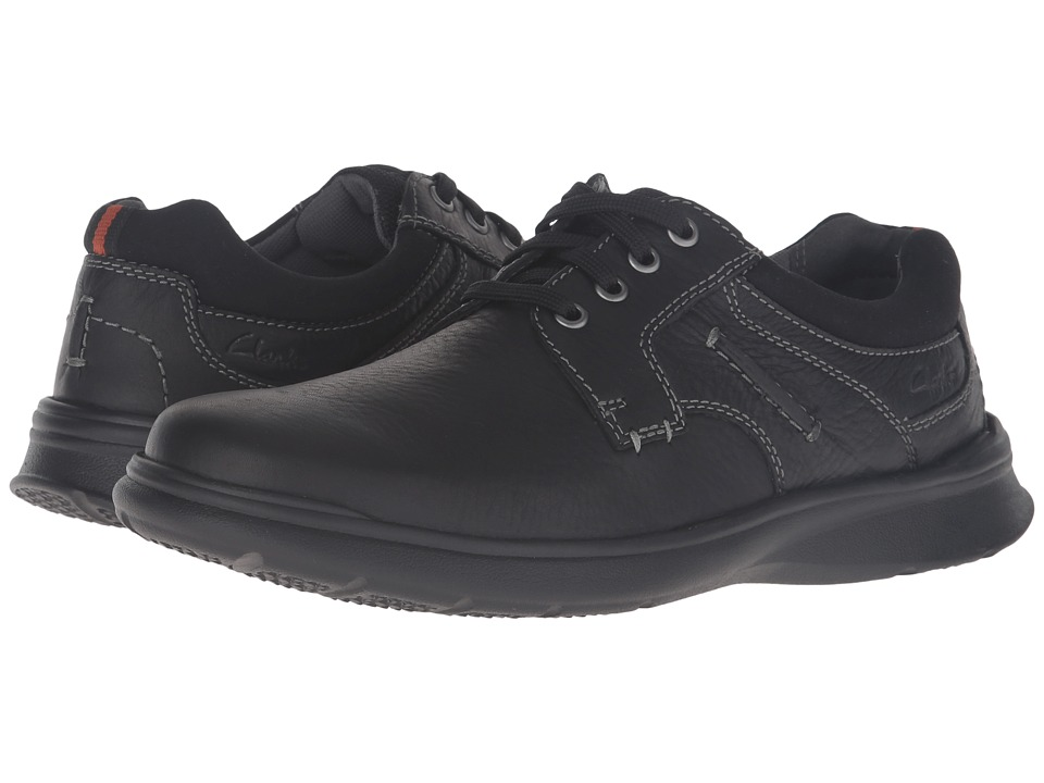Clarks Cotrell Plain (Black Oily Leather) Men