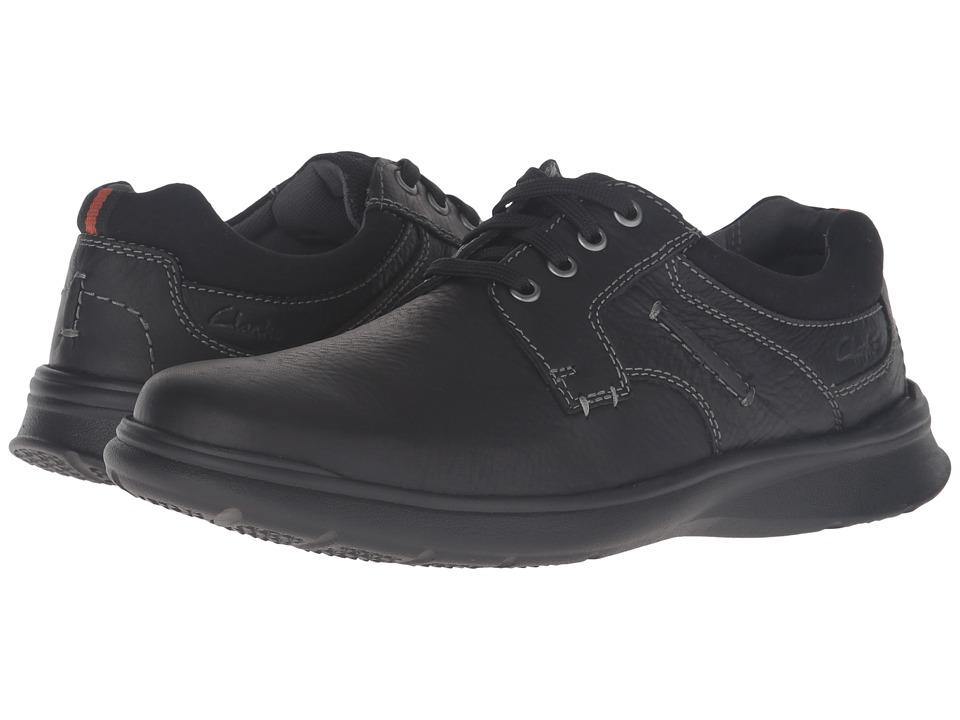 Clarks - Cotrell Plain (Black Oily Leather) Men