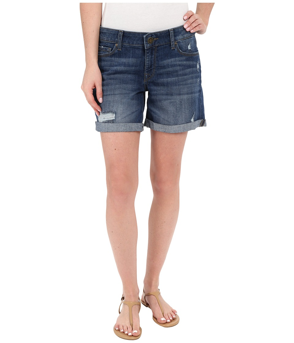 DL1961 - Karlie Boyfriend Shorts in Curtis (Curtis) Women's Shorts