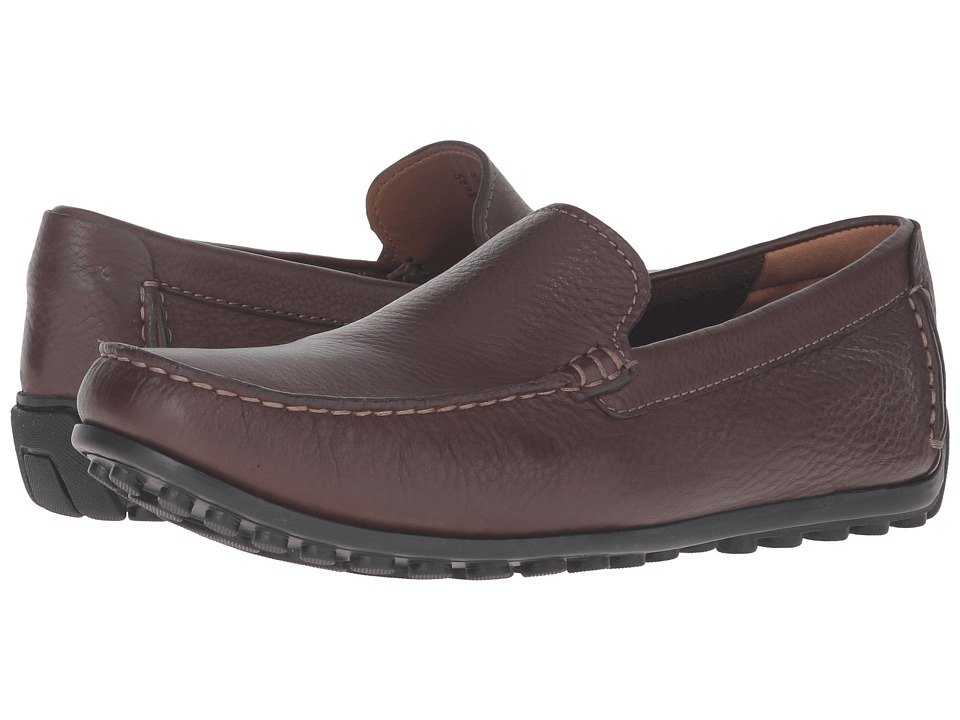 Clarks - Hamilton Free Venetian (Brown Leather) Men's Shoes