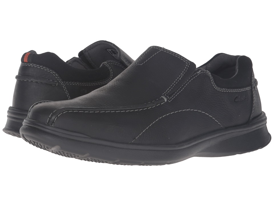 Clarks Cotrell Step (Black Oily Leather) Men
