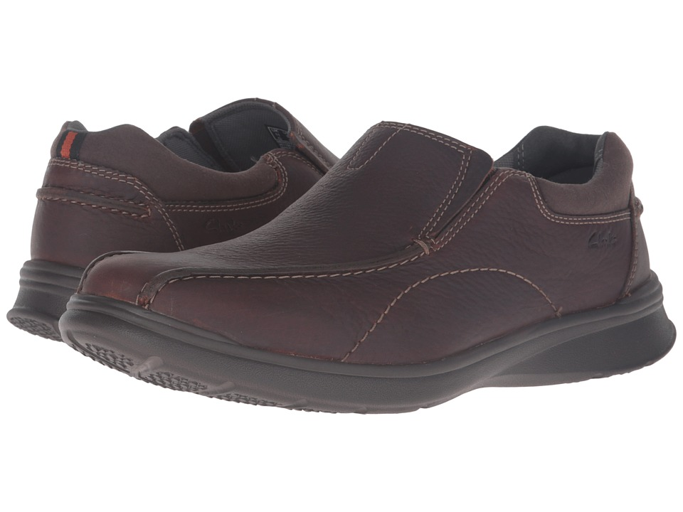 Clarks - Cotrell Step (Brown Oily Leather) Men's Shoes
