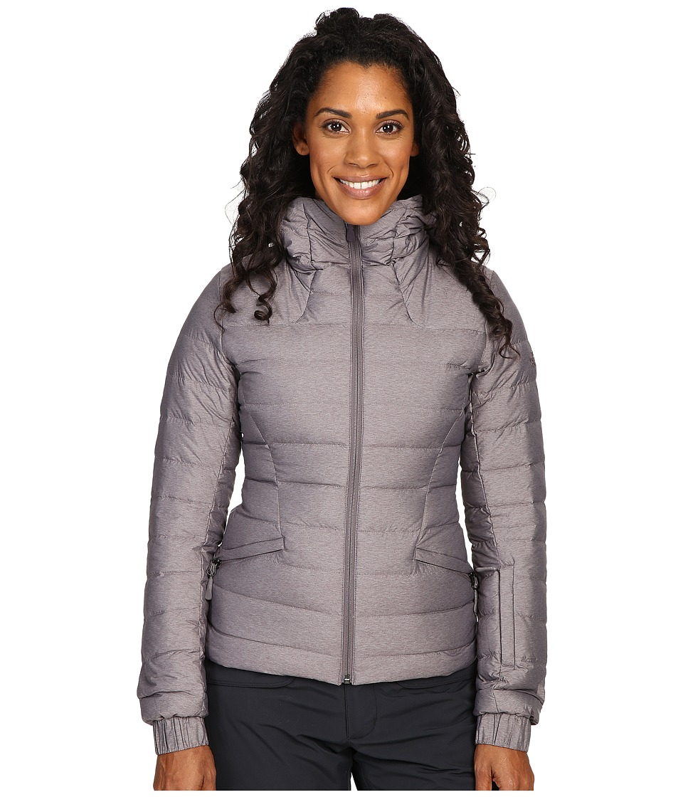 The North Face - Moonlight Jacket (Rabbit Grey Heather) Women's Coat