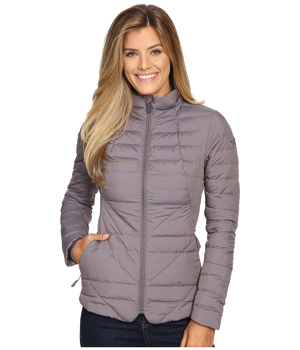 The North Face - Lucia Hybrid Down Jacket (Rabbit Grey Heather) Women's Coat