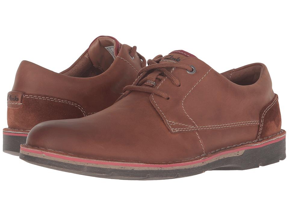 Clarks - Edgewick Plain (Tan Leather) Men