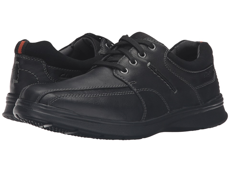 Clarks - Cotrell Walk (Black Oily) Men's Shoes